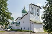 pic of epiphany  - Church of the Epiphany on Zapskovye was build in 1496 in Pskov Russia - JPG