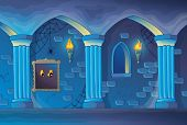 image of scary haunted  - Haunted castle interior theme 1  - JPG