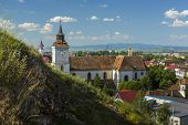 picture of evangelism  - St. Bartholomew Evangelical Church located near Sprenghi hill in Bartolomeu (Bartholomew) district Brasov Romania. Built in the 13th century it is the oldest historical monument of the town.