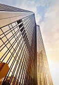 picture of frankfurt am main  - modern office tower at dawn Frankfurt am Main Germany - JPG