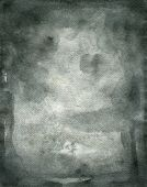 pic of saddening  - Black watercolor with soft effect on wet paper - JPG