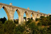 stock photo of aqueduct  - Portuguese - JPG
