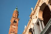 image of vicenza  - Vicenza is a city in northeastern Italy in the Veneto region - JPG