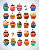 stock photo of cupcakes  - Super cupcake pack - JPG