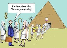 image of pharaohs  - Cartoon of pharaoh - JPG
