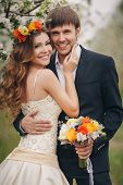 picture of hair bow  - Wedding couple - JPG