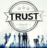 stock photo of trustworthiness  - Trust Belief Faithfulness Honest Honorable Concept - JPG