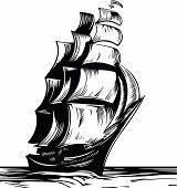 Постер, плакат: Sail Ship