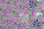 foto of batik  - Beautifu batik patterns Thai traditional texture style - JPG