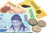 pic of won  - Current Use of South Korean Won Currency in Different value - JPG