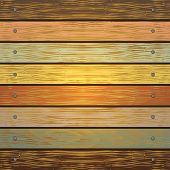 foto of nail paint  - Illustration of background from shabby wooden planks with cracked color paint and nail borders - JPG