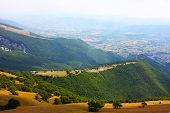 foto of apennines  - Beautiful Landscapes of the mountains taken in the Apennines - JPG