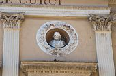 picture of pilaster  - Close up of the Curci theatre - JPG