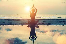 stock photo of surreal  - Meditation - JPG