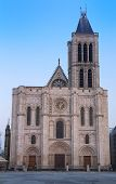 The Basilica Of Saint Denis Is Of Unique Importance Historically And Architecturally As Its Choir, C poster