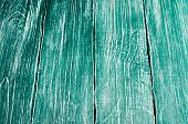 Old Wooden  Texture, Green Wood, Background For Design. Horizontally poster