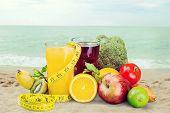Healthy Lifestyle Eating Healthy Organic Food Seasonal Vitality Fresh Liquid poster