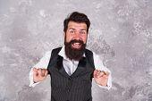 Hora Dance. Happy Jewish Man Dance On Abstract Wall. Bearded Man Dance Israeli Folk Melody. Jewish C poster