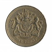 British Pound Coin Back Design 3