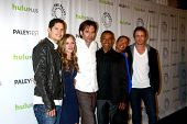 LOS ANGELES - MAR 2:  JD Pardo, Tracy Spiridakos, Billy Burke, Giancarlo Esposito, Daniella Alonso a