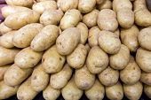 Potatos In Food Store