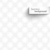 Seamless white wave geometric texture