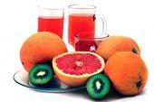 image of pomelo  - fresh fruits - JPG