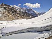 picture of cho-cho  - Cho La Pass in Sagarmatha National Park Himalayas - JPG