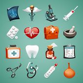 stock photo of enema  - Medical Icons Set1 - JPG