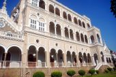 pic of gandhi  - A beautiful palace in Pune - JPG