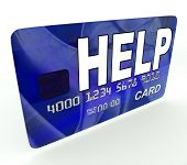 Help Bank Card Means Give Monetary Support And Assistance
