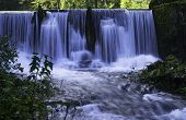 foto of water-mill  - Water Cascades by The old Mill - JPG