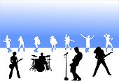pic of rock star  - rock party design - JPG