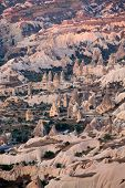 pic of goreme  - Rock formations in Goreme National Park - JPG