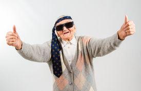 picture of grandma  - Funny grandma - JPG