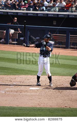 Ichiro Suzuki Batting Stance