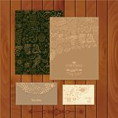 picture of pattern  - Vector coffee and tea branding Design - JPG