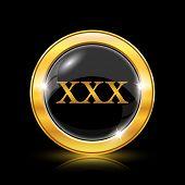 picture of pornographic  - xxx icon - JPG