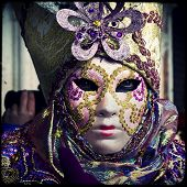 pic of venice carnival  - Carnival of Venice beautiful masks at St - JPG