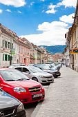 Street In Brasov City
