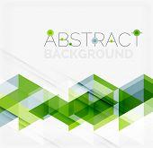 stock photo of geometric  - Abstract geometric background - JPG