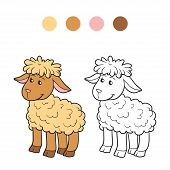 image of color animal  - Game for children - JPG