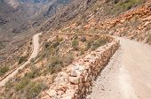 picture of passed out  - One of the hairpin bends in the historic Swartberg  - JPG