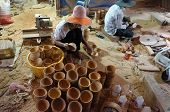 stock photo of wood craft  - BEN TRE VIET NAM - JPG