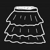 picture of mini-skirt  - Skirt Doodle - JPG