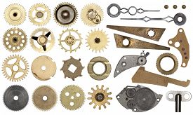 foto of time machine  - Clockwork spare parts - JPG