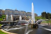 stock photo of samson  - Fountains  - JPG