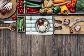 Постер, плакат: Healthy Eating And Traditional Food
