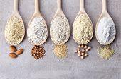 Various Gluten Free Flour poster