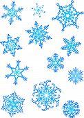 Постер, плакат: Хлопья снега